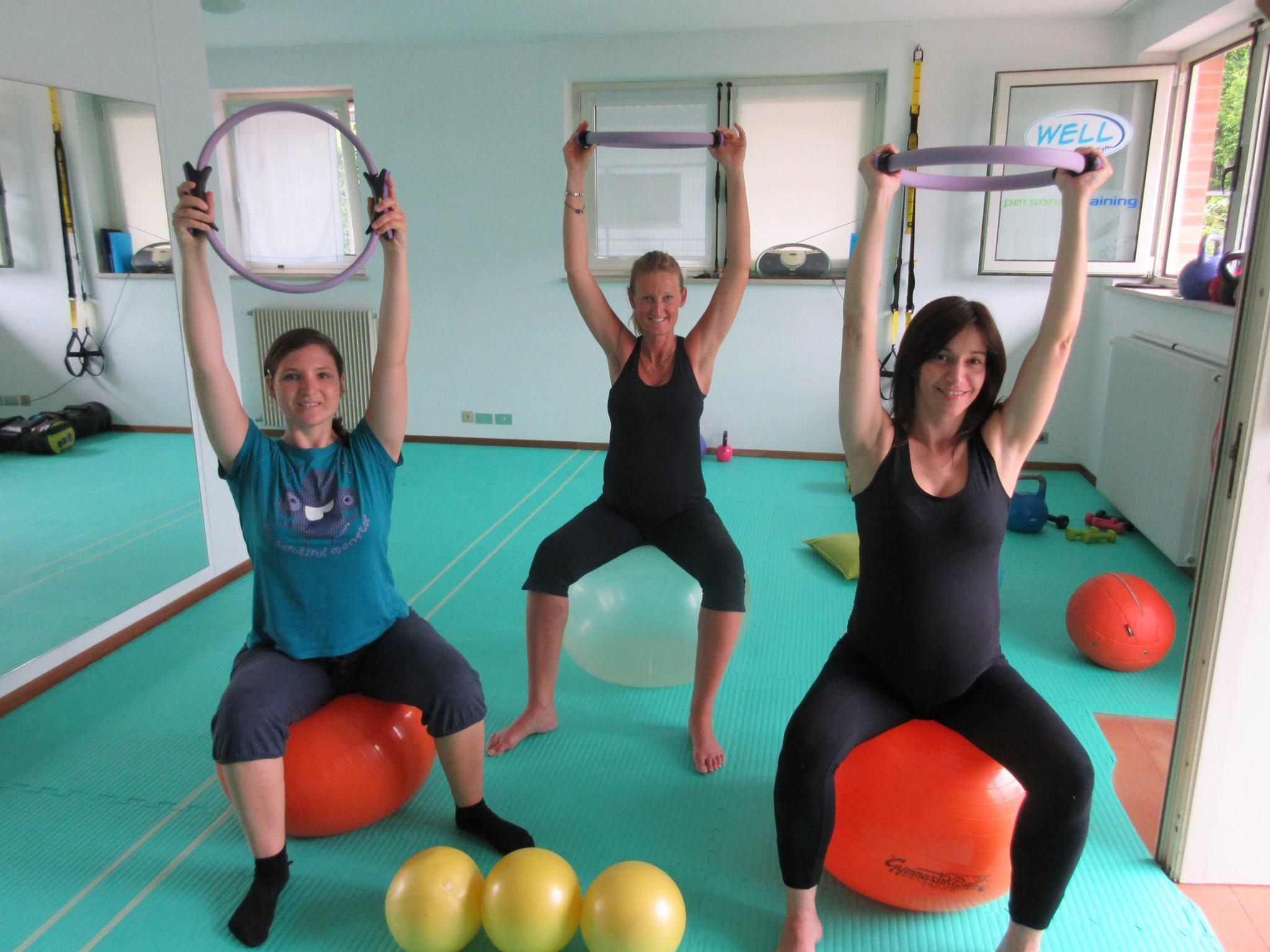 Pilates in gravidanza-Accanto alla donna